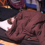 שינה ערבה באוהל
