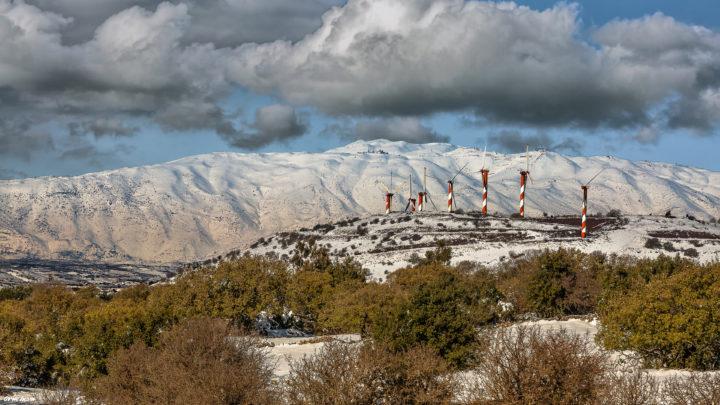 הר בני רסן עם הטורבינות